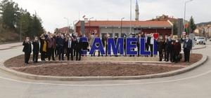 AK Parti İl Başkanı Güngör ilçe ziyaretlerine Çameli'nden başladı