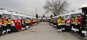 Diyarbakır'da 31 yeni ambulans hizmete girdi