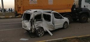 Batman'da trafik kazası 4 yaralı