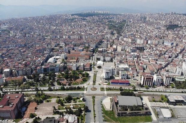 Samsun'da kilometrekareye 149 kişi düşüyor Samsun'un yaş ortalaması 35,6'dan 36,1'e yükseldi