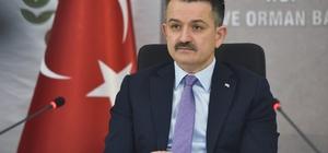 Tarım ve Orman Bakanı Pakdemir'li Aydın'a geliyor
