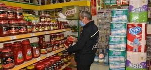 Ergani'de zabıta ekiplerinin gıda denetimleri devam ediyor