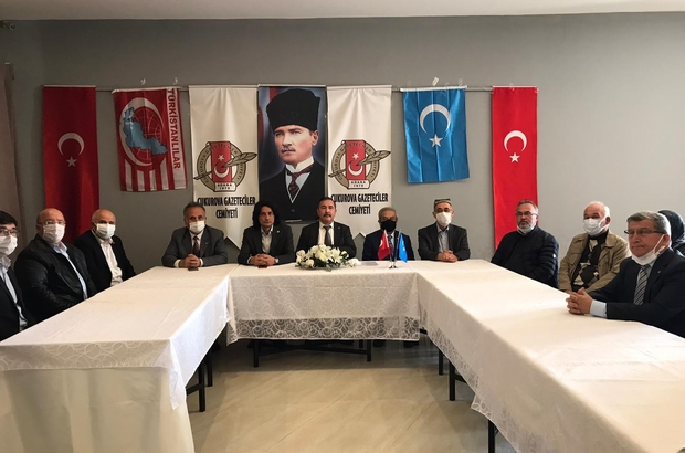 """Osman Beg: """"Doğu Türkistan Türklerine sahip çıkın"""""""