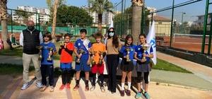 Türkiye Tenis Federasyonu Mezitli 12 Yaş Kış Kupası sona erdi