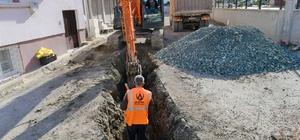 Altınordu'da alt yapı çalışmaları sürüyor