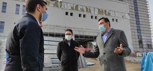 """Tüfenkci Battalgazi Devlet Hastanesinde incelemelerde bulundu Tüfenkci : """"Malatya bölgenin sağlık merkezi haline geldi"""""""
