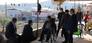Kıbrıs gazisi Arif Baba'yla bir araya geldi