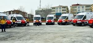 112'ye 9 ambulans takviyesi