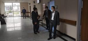 Sağlık müdürü Gümüşova Devlet Hastanesine ziyaret
