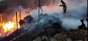 Trabzon'da yangın Sürmene ilçesinde 2 katlı bir evde çıkan yangında 3 araç yanarak kullanılamaz hale gelirken, çok sayıda büyük ve küçükbaş hayvan da telef oldu