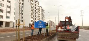 Diyarbakır'daki yer yön levhaları yenilendi