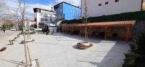 Bahçecik Semt Meydanı tamamlandı