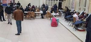 Doğanşehir'de kan bağış rekoru kırıldı