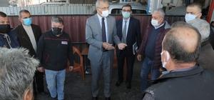 Başkan Tarhan sanayi esnafıyla buluştu