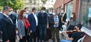 Kadın üreticiler bu kez stantlarını Tarsus'ta açtı