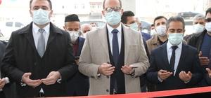 Bismil Kaymakamı Türkmen iş yeri açılışına katıldı