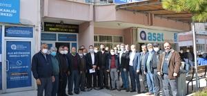 Korkuteli'nde 58 mahalle muhtarından ASAT'a yüksek fiyat dilekçesi