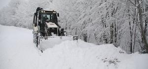 Atakum Belediyesi karla mücadeleye hazır Atakum'da karla mücadele ekipleri 24 saat sahada olacak