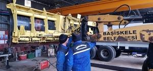 Başiskele'de karla mücadele için hazırlıklar tamamlandı