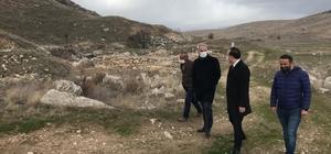 Isparta Valisi Seymenoğlu, Seleukeia Sidera Antik Kenti'ni inceledi