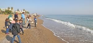 Hiç deniz görmemiş Gaziantepli çocuklar, Mavi düşler projesiyle Mersin'e geldi