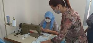 Mersin'de dikiş kursları yeniden başladı