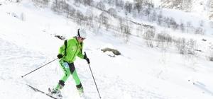 Türkiye dağ kayağı şampiyonası Trabzon'da yapıldı