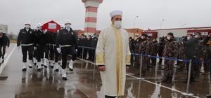 Şehit Muhammet Salih Kanca'nın naaşı Samsun'da