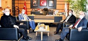 Başkan Oral, AK Partilileri ağırladı