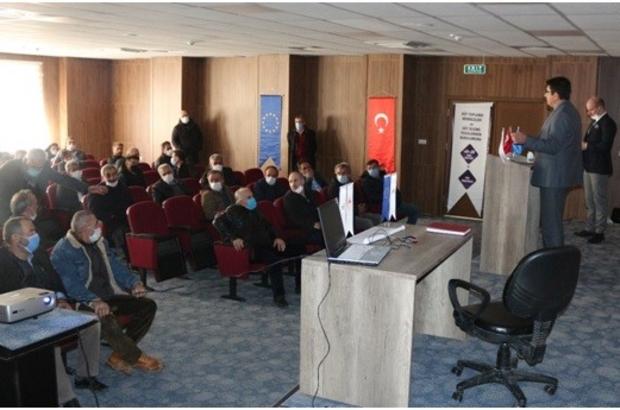 Erzurum TKDK Hay-Koop başkanları ile buluştu