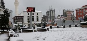 Samsun kara teslim Kar kimine çile kimine de eğlence oldu Samsun'dan kar manzaraları