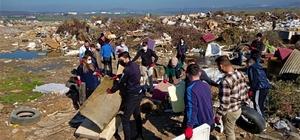 Atık malzemelerden sokak hayvanları için yuva yaptılar Çöpe gidecek malzemeler sıcak bir yuvaya dönüştü
