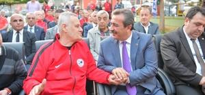 """Çetin: """"İlyas Ayan'ın adına yakışır bir tesis kazandırdık"""""""
