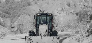 Giresun'da kar nedeniyle 173 köy yolu ulaşıma açıldı