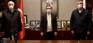 Sivrihisarlılar'dan Başkan Ataç'a ziyaret