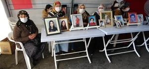 HDP önündeki evlat nöbeti eylemi, kararlılıkla sürüyor