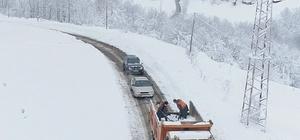 Samsun'da yolu kapalı mahalle sayısı 32'ye düştü