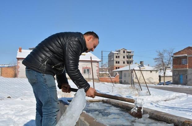 Bu ilçe adeta dondu, Türkiye'nin en soğuk yeri oldu
