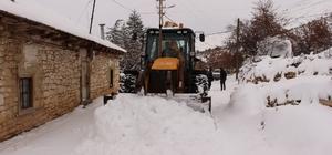 Büyükşehir Belediyesi'nin kar nöbeti devam ediyor