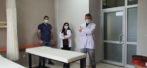Beşiri Devlet hastanesinde açılan GETAT ünitesi hizmet vermeye başladı