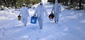 """Aşı ekipleri komando gibi: Kar ve baraj onlara engel olamadı Aşı vurulan vatandaşlar: """"Allah devletimize zeval vermesin"""""""