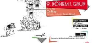 Online Karikatür Atölyeleri için kayıtlar devam ediyor