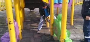 Gebze ve Darıca'da parkların onarımı yapıldı