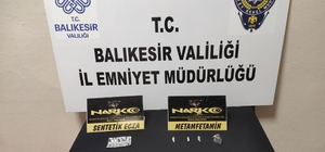 Balıkesir'de 7 şahsa uyuşturucu operasyonu