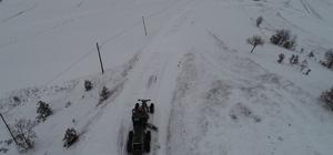 Bilecik'te kapanan köy yollarının tamamı ulaşıma açıldı Vali Şentürk, karla mücadele çalışmalarını inceledi