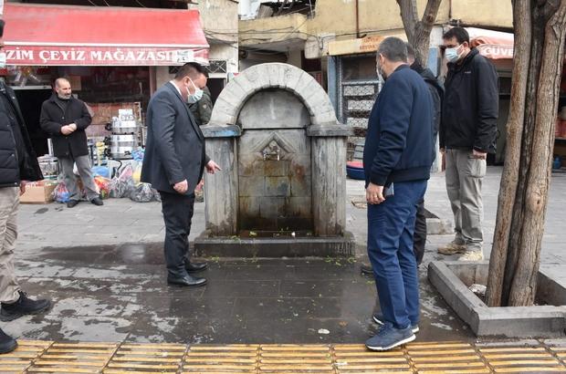 Başkan Beyoğlu'nun 'hayır çeşmesi' hassasiyeti