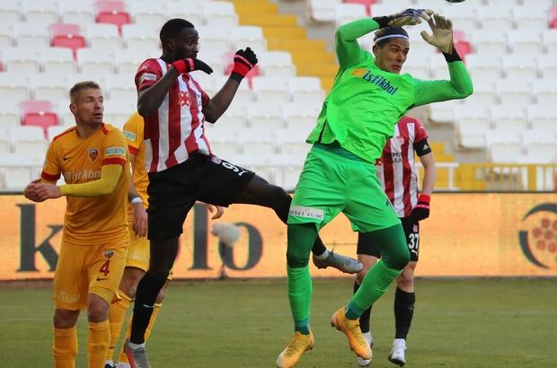 Süper Lig: DG Sivasspor: 2 - Kayserispor: 0 (Maç sonucu)