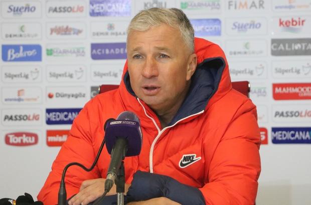 """Dan Petrescu: """"Mağlubiyetten dolayı üzgünüz"""" Kayserispor Teknik Direktörü Dan Petrescu: """"Moral anlamında düşüşe geçtik"""""""