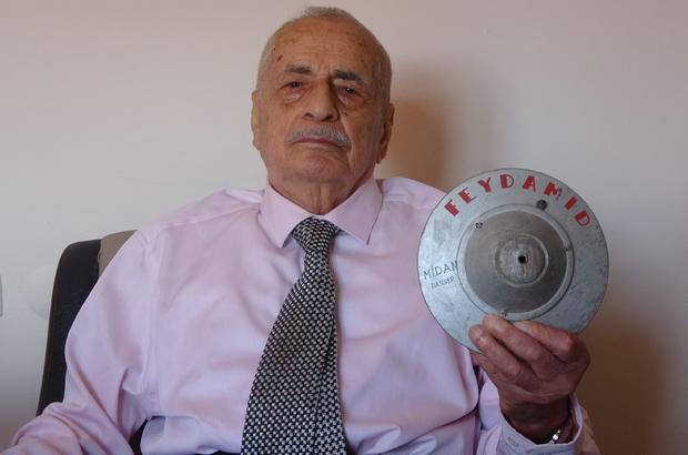 """UFO tasarlayan Fevzi dede ömrünü Türkiye'nin ilk uzay projesine adadı Cumhurbaşkanı Erdoğan'ın Uzay Programı'nı açıklamasının ardından uzayda uçabilen UFO benzeri araçları tasarlayan Hataylı Fevzi Yertut'un mimarı olduğu Feydamid projesi yeniden gündeme geldi Feydamid projesinin mimarı Fevzi Yertut: """"Mekanik teknolojinin ömrü bitmek üzere. Bu teknolojinin ötesinde artık 'Feydamid' teknolojisi başlayacak"""" 90 yaşındaki Fevzi dede, ömrünü adadığı projesi yıllar önce hayata geçirilmiş olsaydı bugün Türkiye'nin süper güç olabileceğini belirtti"""