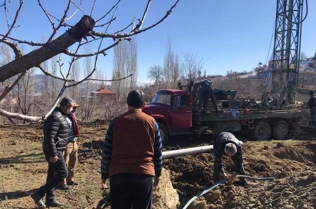 287 nüfuslu köy için su arama çalışmaları başlatıldı